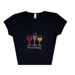 Rhinestone Wine and Drinks apparel and accessories