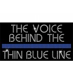 Rhinestone Voice Behind The Line Tee
