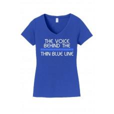 Rhinestone Voice Behind The Line Tee