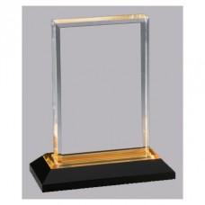 """Gold Beveled Impress Acrylic Award, 8"""""""