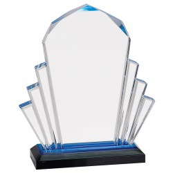 Blue Acrylic Awards