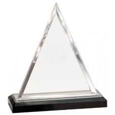 Silver Triangle Impress Acrylic Award