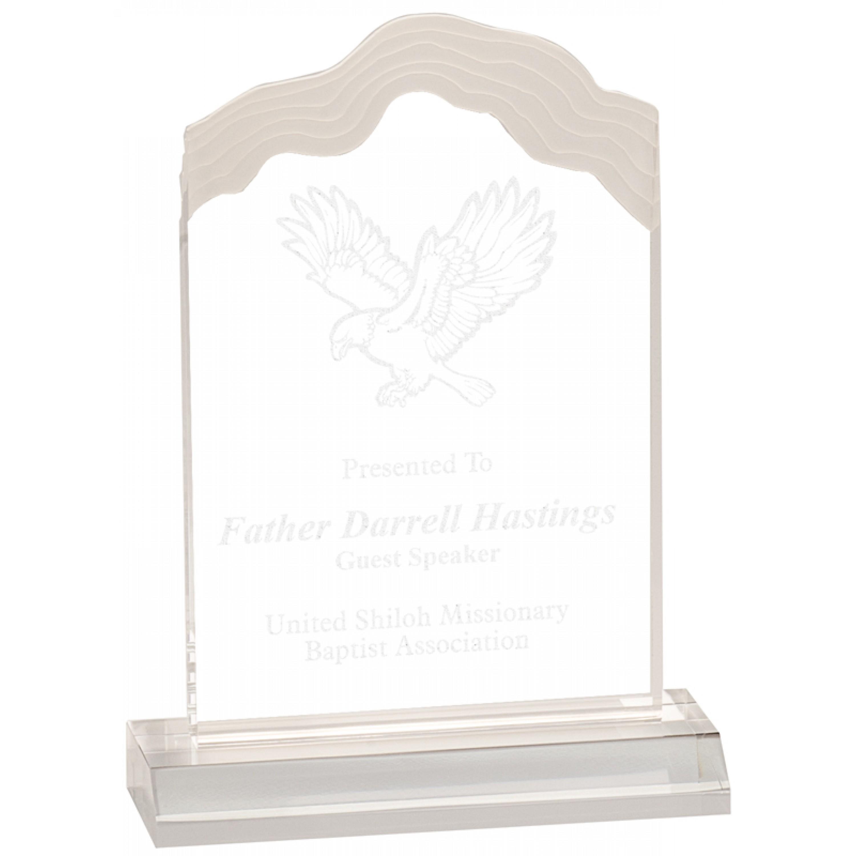 Clear Acrylic Awards (2)