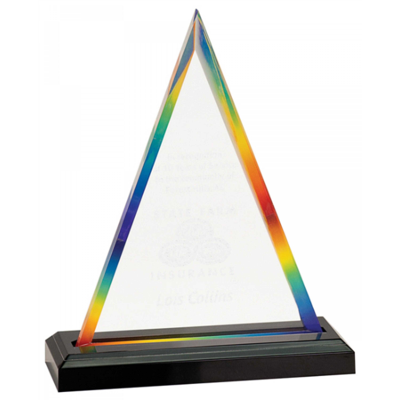 Rainbow Acrylic Awards (5)