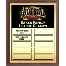 Economy Full-Color Perpetual Plaque, Gold