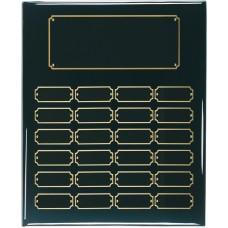 24 Plate Black Piano Finish Perpetual Plaque
