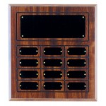 Perpetual Plaque with 12 Plates