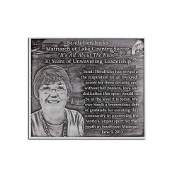 Outdoor Weatherable Plaques with Portraits