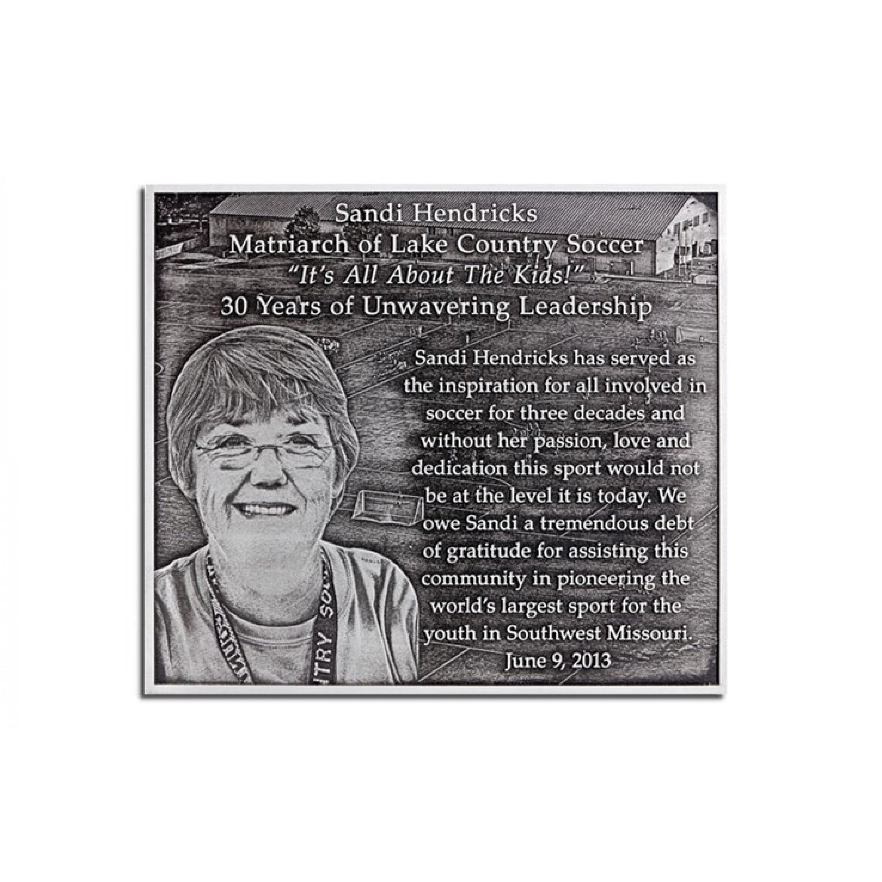 Outdoor Weatherable Plaques with Portraits (0)