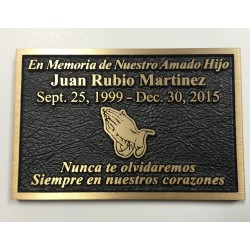 Custom Cast Metal Plaques