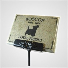 AcrylaStone Plaque with Stake Mount
