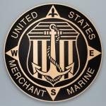 Cast bronze plaque, round