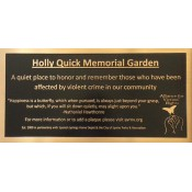 Custom Cast Metal Plaques (2)