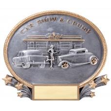 Oval Cruise Car Show Resin Award