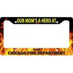 Firefighter Hero Dad Mom License Plate Frame