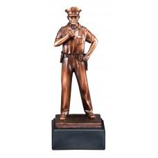 Police Statue Bronze Resin