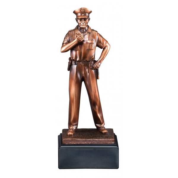 Police Statue Bronze Resin