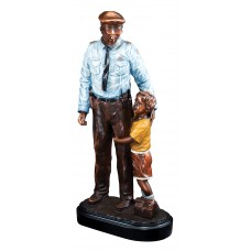 Police Officer and Child Resin Award