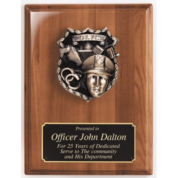 Police Plaque