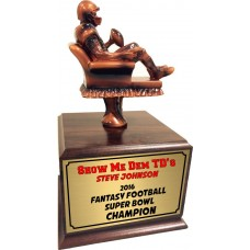 Armchair Quarterback Fantasy Football Trophy