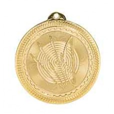 Archery BriteLazer Medal with Neck Ribbon