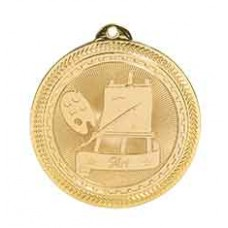 Art BriteLazer Medal with Neck Ribbon