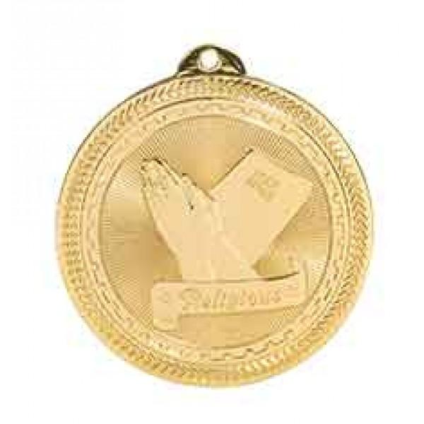 Christian BriteLazer Medal with Neck Ribbon