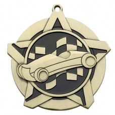 "2 1/4"" Pinewood Derby Super Star Medal"