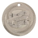 "2"" Pinewood Derby Tire Tread Border Medal"