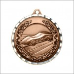 "2"" Pinewood Derby Diamond Edge Medal"