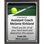 Ball on Line Tennis Plaque