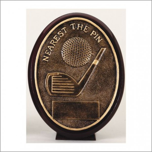 Nearest the Pin Golf Resin Trophy