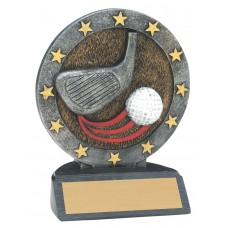 4 1/2 inch Golf All Star Resin