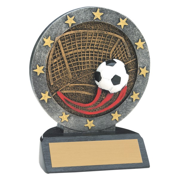 4 1/2 inch Soccer All Star Resin