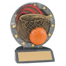 4 1/2 inch Basketball All Star Resin