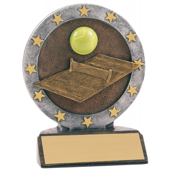 4 1/2 inch Tennis All Star Resin