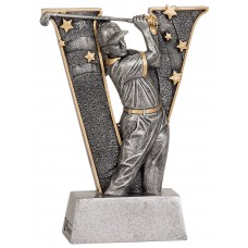 6 inch Male Golf V Series Resin