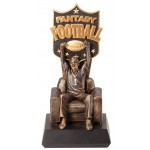 End Zone Fantasy Football Trophy