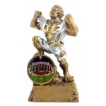 "Monster Fantasy Football Trophy with 2"" Insert"