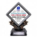 Custom Diamond Stars Trophy