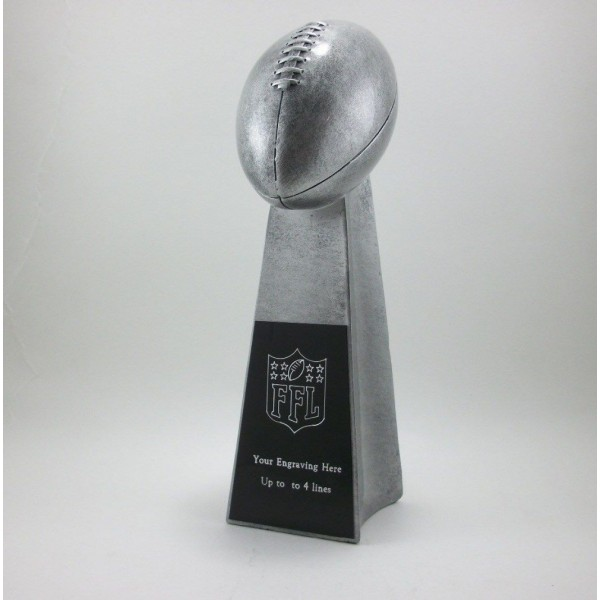 Lombardi Style Football Trophy