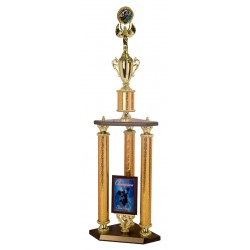 Triple Column Trophies
