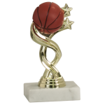 Economy Trophy with White Asian Marble Base
