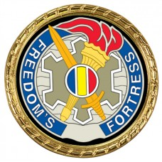 Gold Rope Edge Challenge Coin