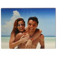 11x14 Glossy White Aluminum Photo Panel