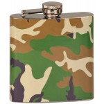 6 oz Engraved Stainless Steel Flask