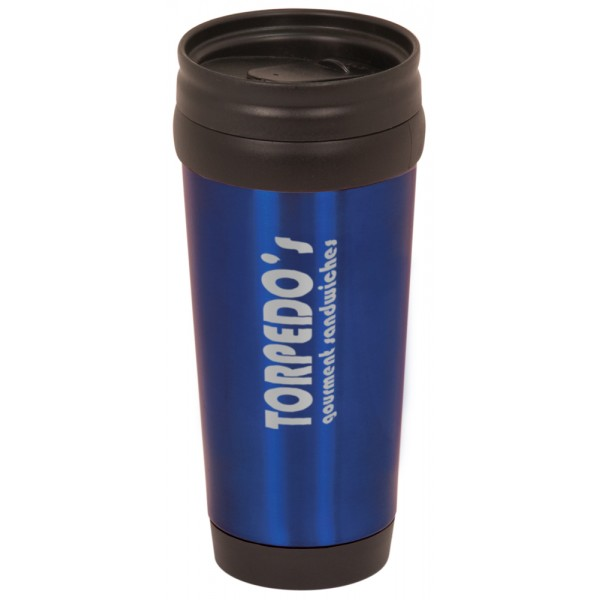 14 oz Laserable Stainless Steel Travel Mug without Handle