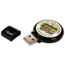 Black Plastic 4gb Usb Flash Drive