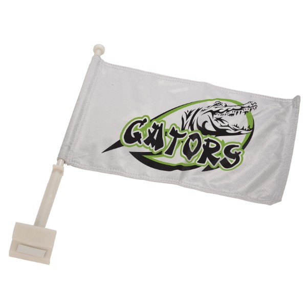 Large Car Flag With Pole