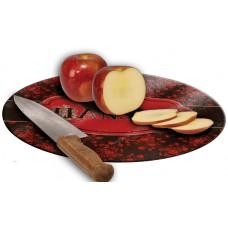 Round Glass Cutting Board